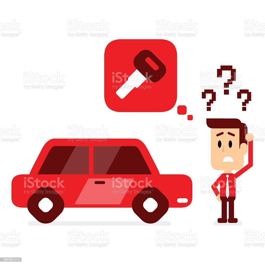 how to find missing car keys