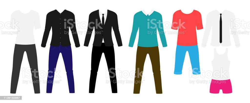 premium selection 252f0 a8f66 Man Moderne Kleidung Flaches Set Stilvoller Anzug Und ...