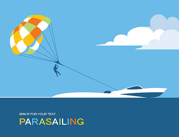 Best Parasailing Illustrations, Royalty-Free Vector ...