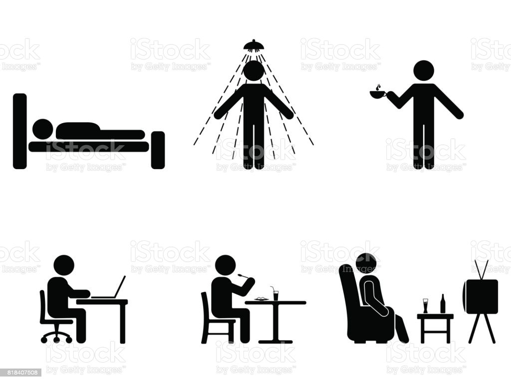 Man people every day action posture stick figure sleeping eating man people every day action posture stick figure sleeping eating working biocorpaavc Images