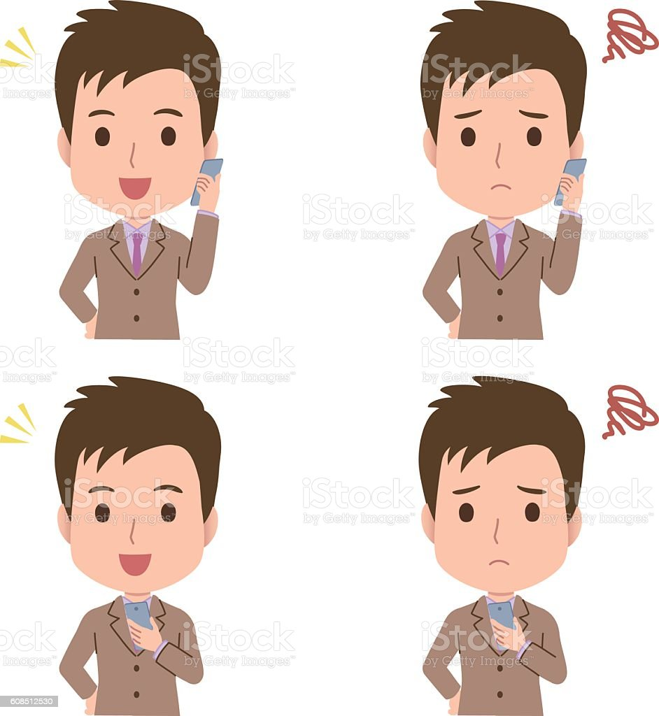 man pose vector art illustration
