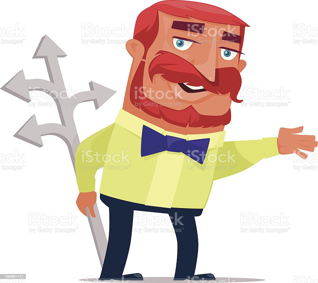man presenting royalty-free man presenting stock vector art & more images of adult