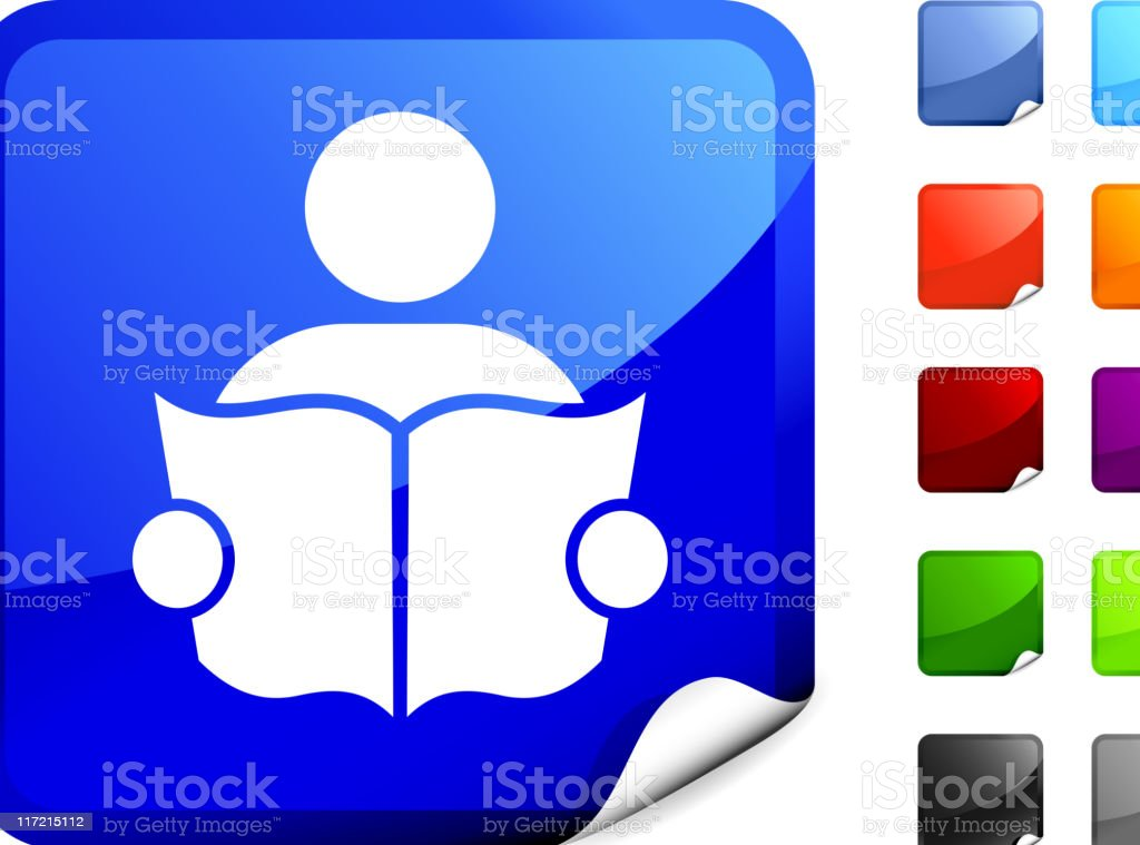 man reading (library) internet royalty free vector art royalty-free man reading internet royalty free vector art stock vector art & more images of adult