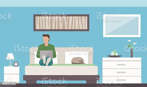Man relaxing in the bedroom vector id609052438?b=1&k=6&m=609052438&s=612x612&h=nn2bodsfdrsdwhfuzjwqfaa7ptxn8c9s1i4opr3q2se=