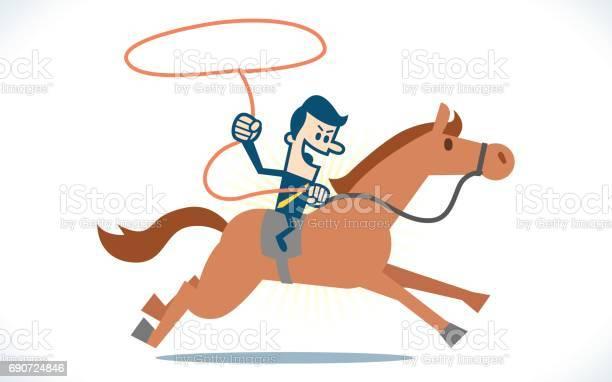 Man riding horse with rope vector id690724846?b=1&k=6&m=690724846&s=612x612&h=4dzjp4xf8eecb zvs mqc4q46kb0 hfb thwlheymfm=