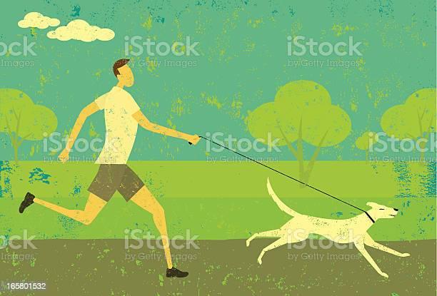 Man running with dog vector id165801532?b=1&k=6&m=165801532&s=612x612&h=ys6i1gcgheabognvv xuznajfxm pqe7vjiwfixbhby=