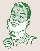 istock Man Shaving His Neck 533175273
