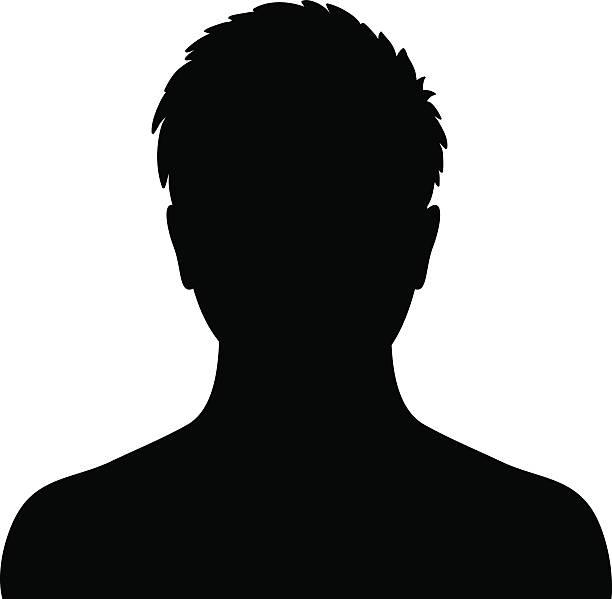 bildbanksillustrationer, clip art samt tecknat material och ikoner med man silhouette profile picture - profile photo