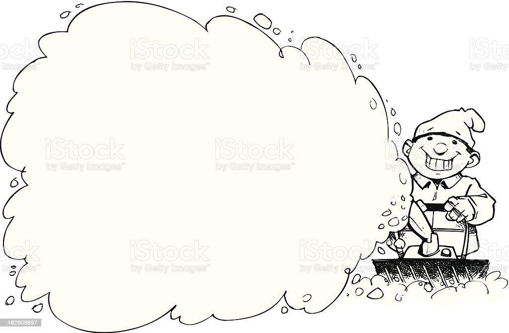 royalty free snow blower clip art  vector images