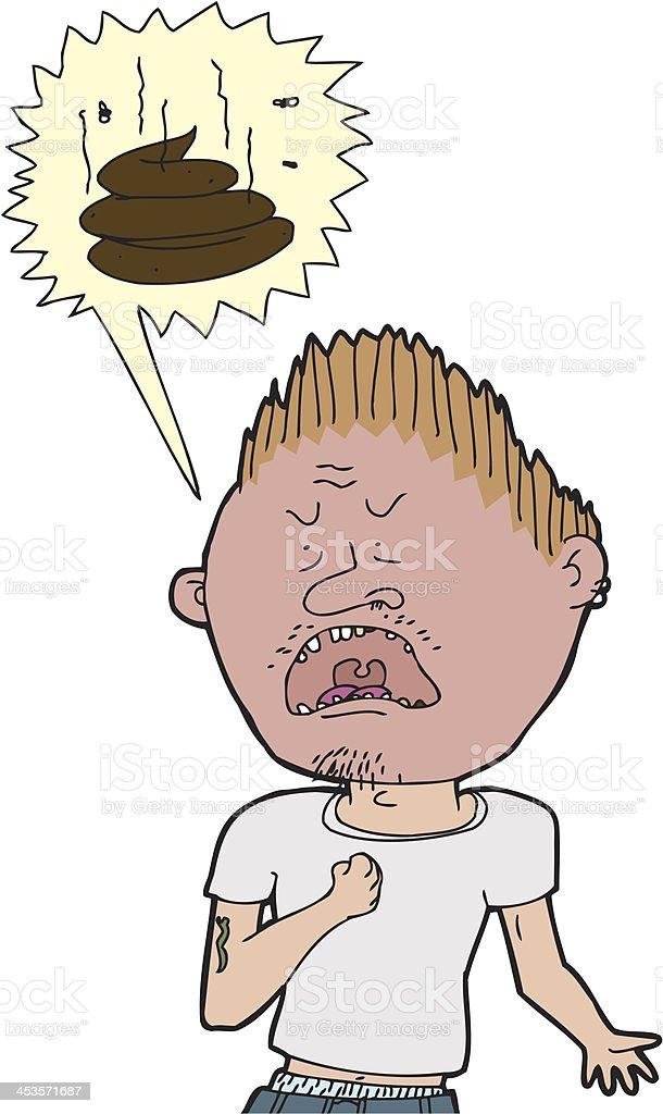 Man Swearing royalty-free man swearing stock vector art & more images of adult