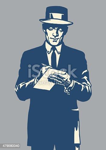 istock Man Taking Notes 479580040