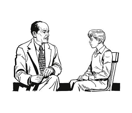 School counselor stock illustrations