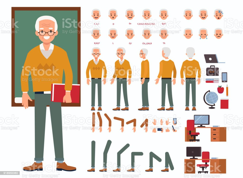 Maestro de hombre - ilustración de arte vectorial