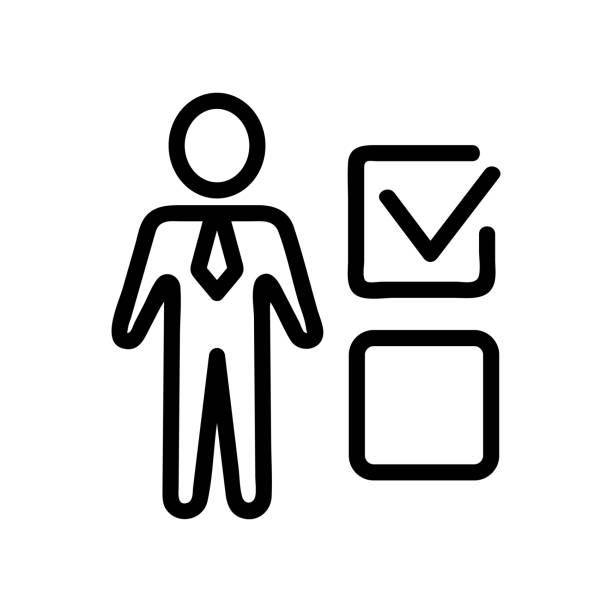 Man test icon vector. Isolated contour symbol illustration Man test icon vector. Thin line sign. Isolated contour symbol illustration exocrine gland stock illustrations