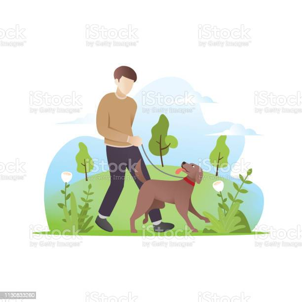 Man walking with his dog vector id1130833260?b=1&k=6&m=1130833260&s=612x612&h=ylbrzxydtyhtxcmnjekqfi1soeqluznb7fgletstfza=