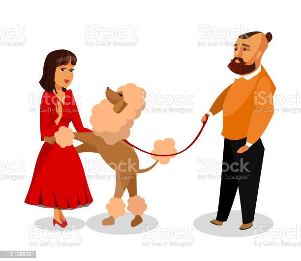 Man walking with poodle cartoon design element vector id1131095201?b=1&k=6&m=1131095201&s=612x612&h=1cvgd t7vj w3cpm6nuo dfam5pkpw azajfhh0xens=