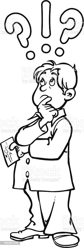 Homem que tem questão ilustração de homem que tem questão e mais banco de imagens de adulto royalty-free