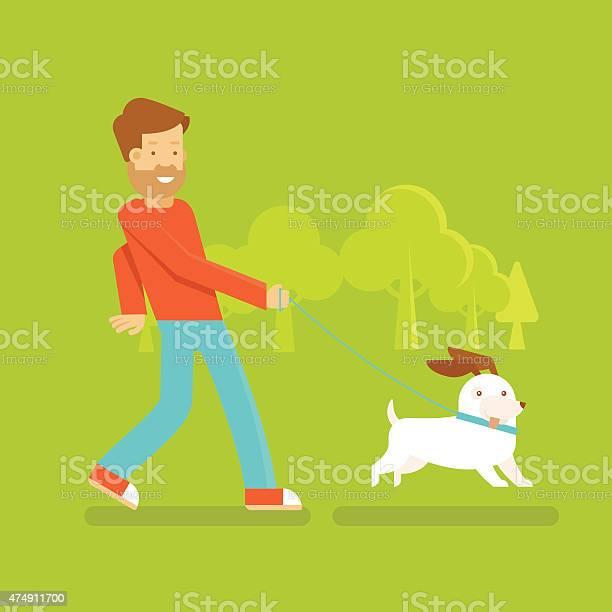 Man with a dog vector id474911700?b=1&k=6&m=474911700&s=612x612&h=ogwk7yezg21pn2q zst3t6ygngtoyhdzapi5f6zpahc=