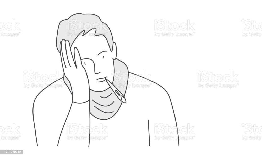 Vetores De Homem Com Um Termometro Na Boca E Mais Imagens De Adulto Istock Subito a casa e in tutta sicurezza con ebay! https www istockphoto com br vetor homem com um term c3 b4metro na boca gm1211019030 351050619
