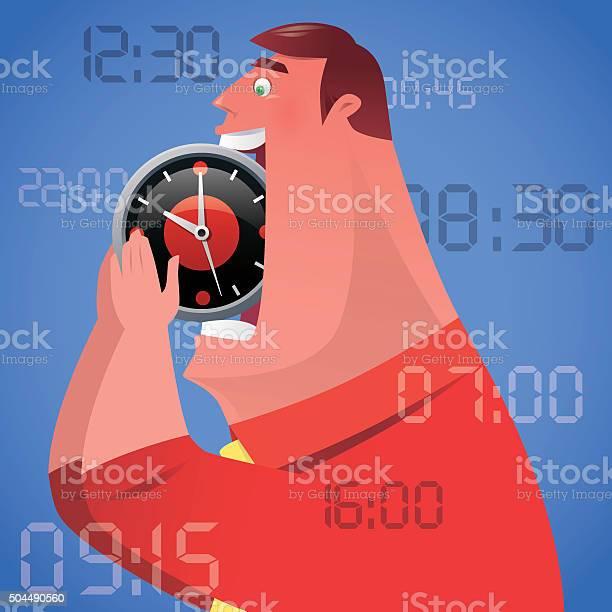 Man with clock vector id504490560?b=1&k=6&m=504490560&s=612x612&h=gpyq yd1013d1vt0zsnxcckhzusgkyb6ts4qd23f ew=