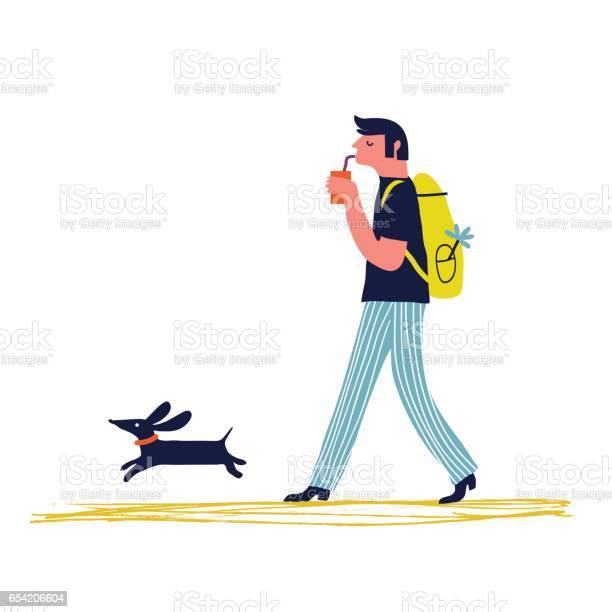 Man with dog vector id654206604?b=1&k=6&m=654206604&s=612x612&h=pnyc3410q4pfo54zftcww8gkwead8srjfiuxt  yg o=