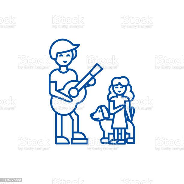 Man with girl and dogfather with daughter line icon concept man with vector id1140775858?b=1&k=6&m=1140775858&s=612x612&h=p5dpmugmoz9 gf3utll4p7cduqcni79cis5o0zz29 s=