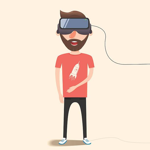 Collection Of Simulator Clipart: Royalty Free Virtual Reality Simulator Clip Art, Vector