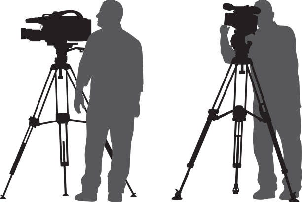 Royalty Free Camera Tripod Clip Art, Vector Images ...