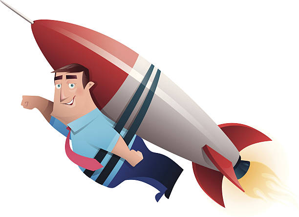 Top 60 Rocket Man Clip Art, Vector Graphics And