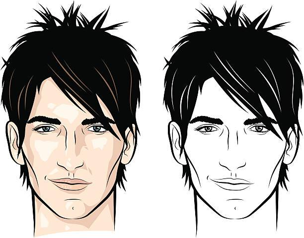 Spiky Hair Illustrations, Royalty-Free Vector Graphics & Clip Art - iStock