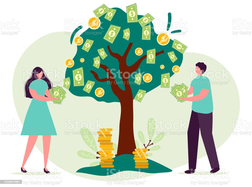 Man Woman Cartoon Character Concept Of Growing Company Tree Money Grow Family Businessmen Teamwork Business Industrial Creative Concept Vector Flat Illustration People Collect Money From Tree Stock Illustration Download Image Now Are you searching for cartoon man png images or vector? man woman cartoon character concept of growing company tree money grow family businessmen teamwork business industrial creative concept vector flat illustration people collect money from tree stock illustration download image now