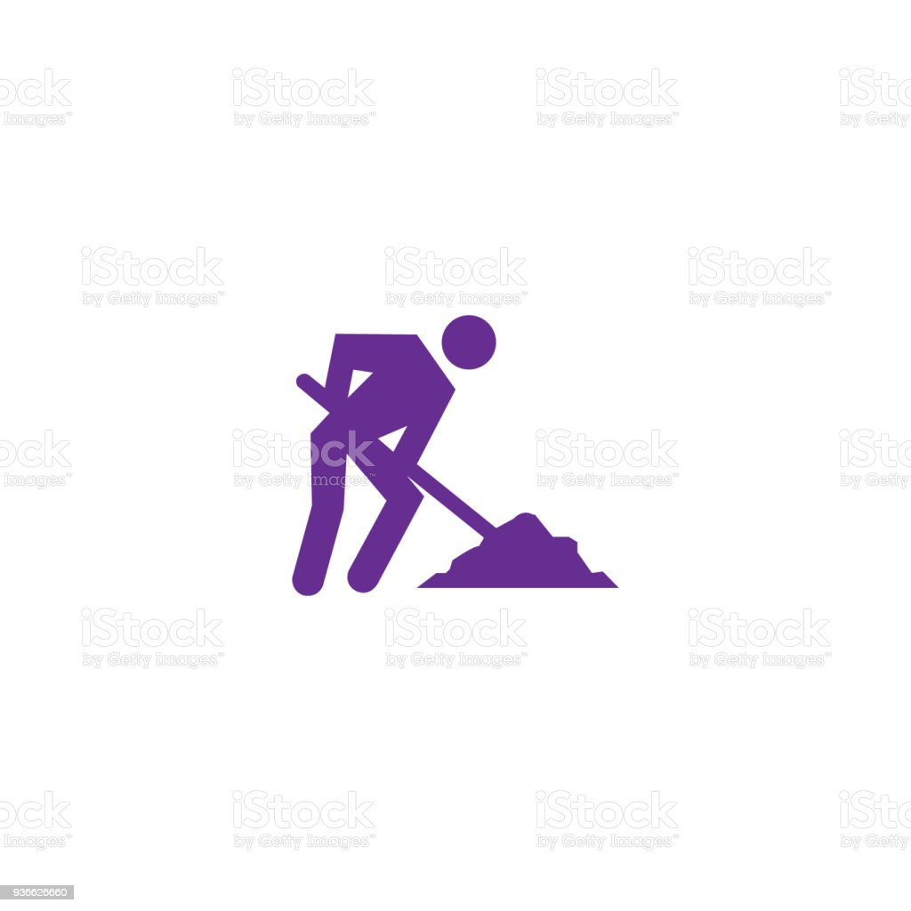 Man working icon stock vector art more images of building man working icon royalty free man working icon stock vector art amp more biocorpaavc Images