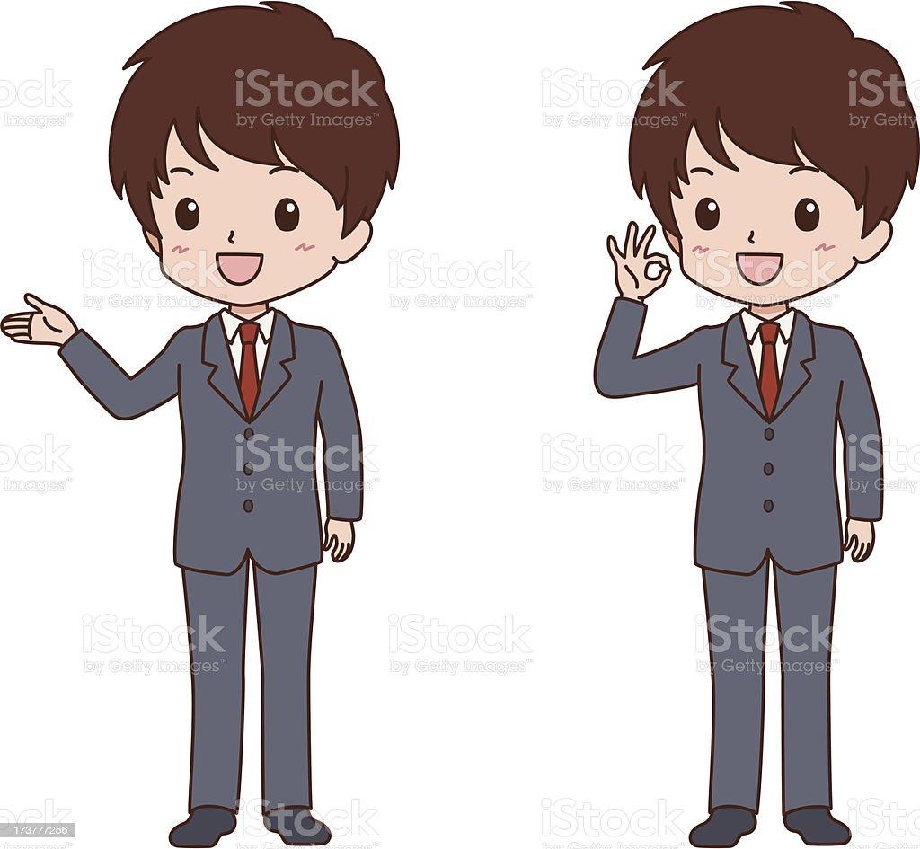 man_pose royalty-free stock vector art