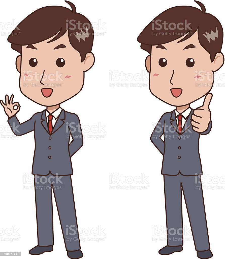 man_pose vector art illustration
