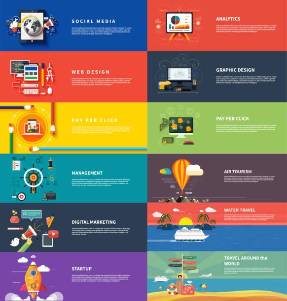 verwaltung digitaler srartup planung seo marketing - entspannungsmethoden stock-grafiken, -clipart, -cartoons und -symbole