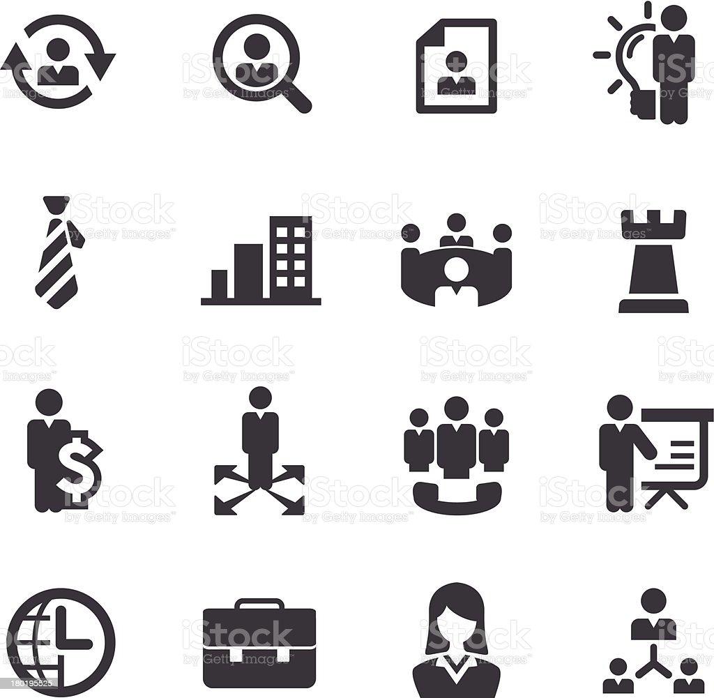Management Icons - Acme Series vector art illustration