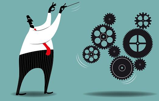 Management Stock Illustration - Download Image Now