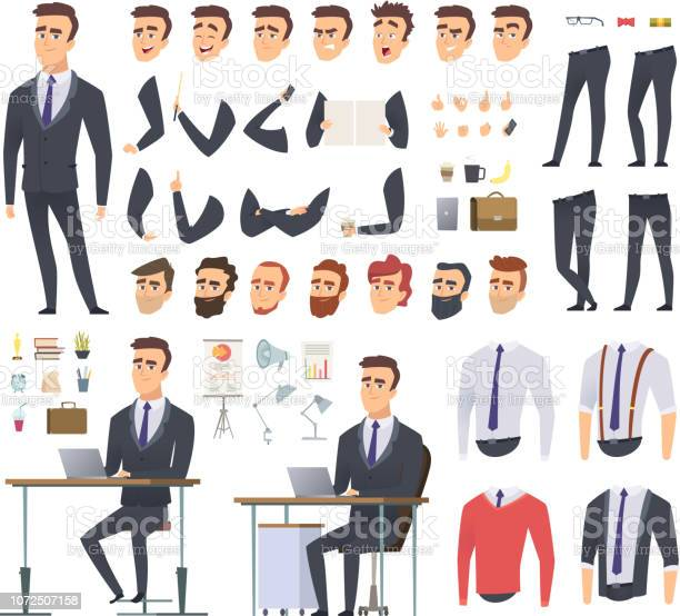 Manager creation kit businessman office person arms hands clothes and vector id1072507158?b=1&k=6&m=1072507158&s=612x612&h=wsveoiv68r2nkr0kuuboqyggqo vntmdct7imueqhyc=
