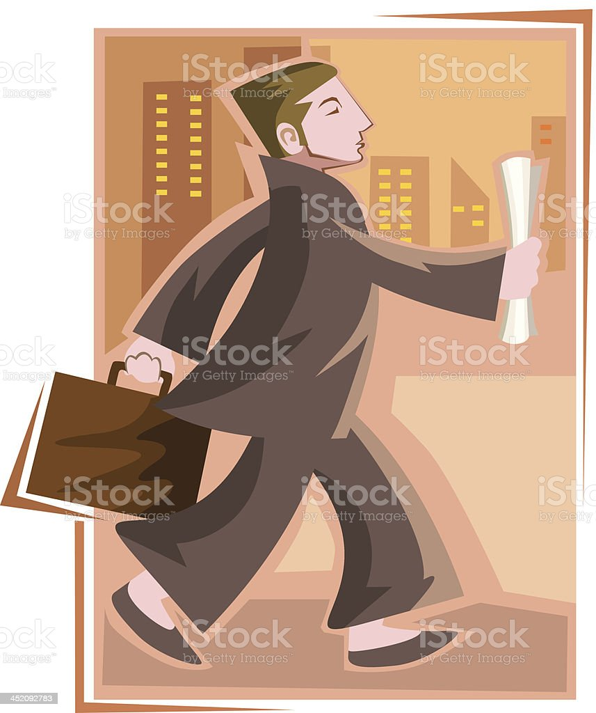 Manager royalty-free stock vector art