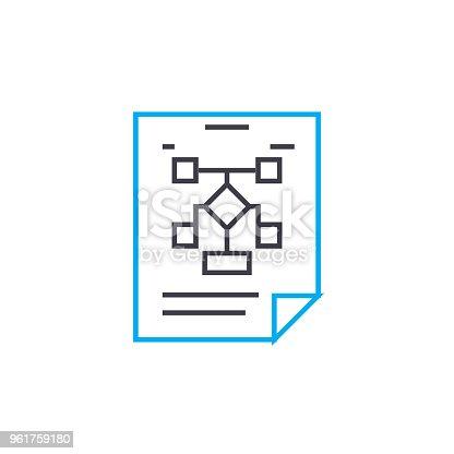 961802498istock Buscando Un Concepto De Icono Linear De La