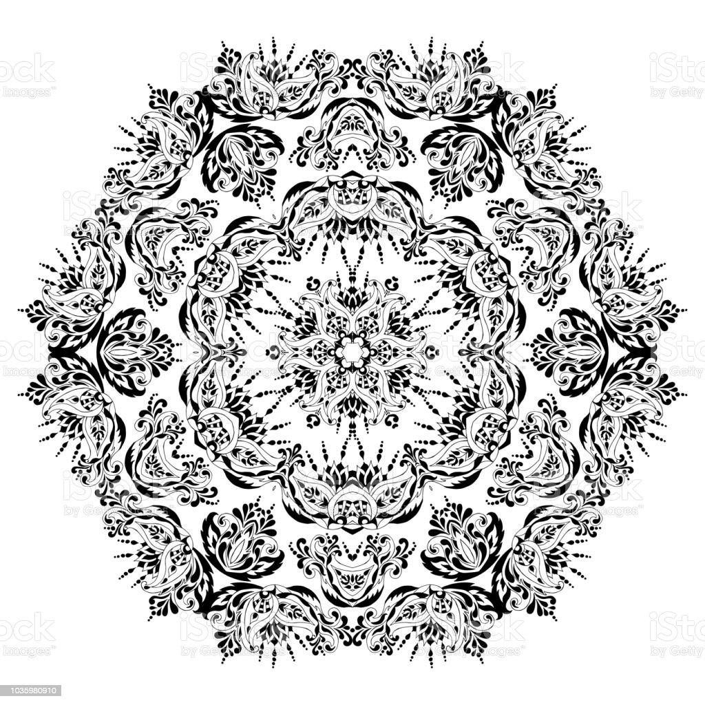 Mandala Alone Immagini Vettoriali Stock E Altre Immagini Di Album