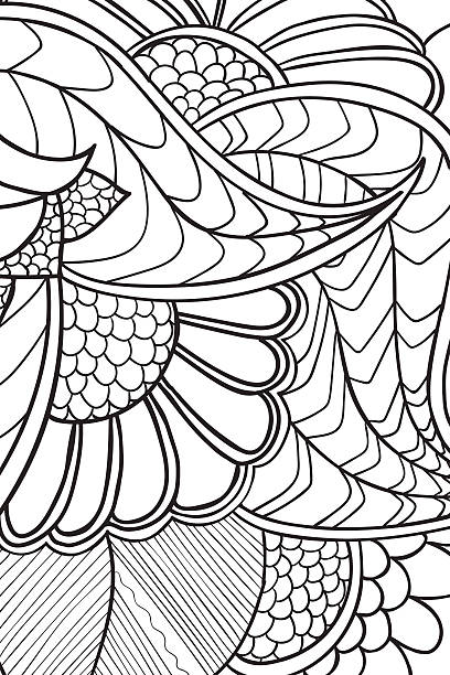 Mandala background. Ethnic decorative elements. Hand drawn . Coloringg book for Mandala background. Round Ornament.. Coloring book for adults. Oriental pattern, vector illustration. Islam and Arabic and Indian and turkish and pakistan, and chinese, ottoman motifs. coloring book pages templates stock illustrations