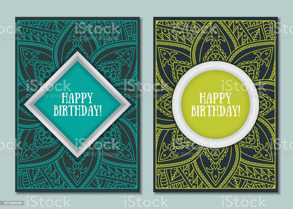 Mandala cards design for wedding holiday party invitation arte mandala cards design for wedding holiday party invitation mandala cards design for wedding holiday party stopboris Choice Image