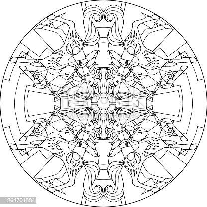 Mandala Centaur