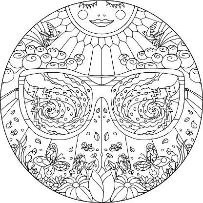 Mandala Clouded View
