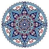 Mandala color ornament