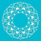 Circle mandala line drawing abstract design element design abstract shapes.