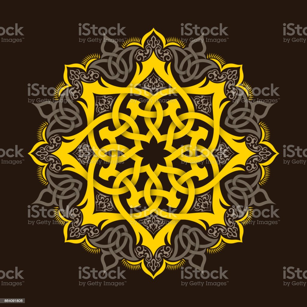 Mandala. Ethnic motifs royalty-free mandala ethnic motifs stock vector art & more images of abstract