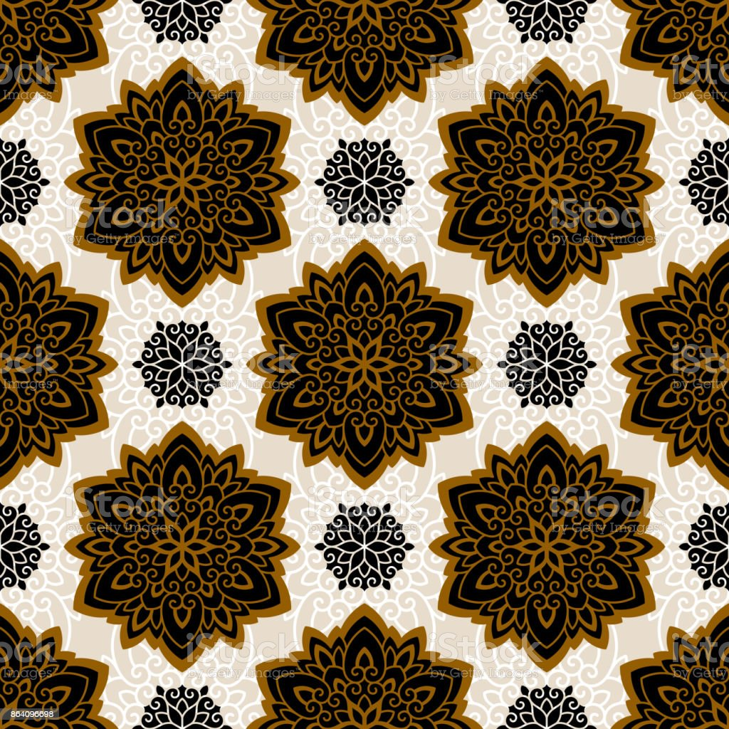 Mandala. Ethnic motifs vector seamless pattern royalty-free mandala ethnic motifs vector seamless pattern stock vector art & more images of abstract