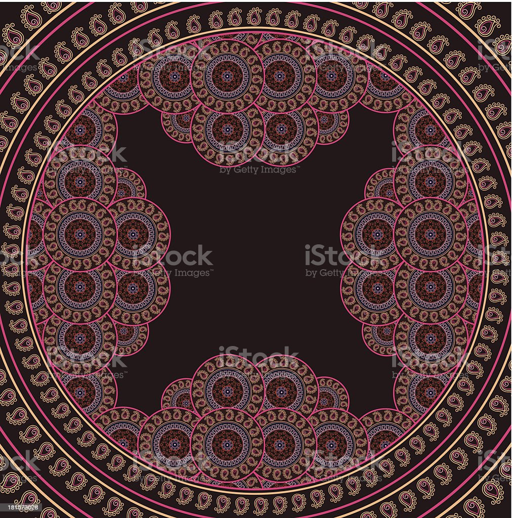 Mandala Frame royalty-free mandala frame stock vector art & more images of backgrounds